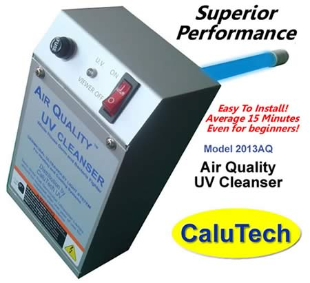 UV Cleanser for HVAC