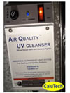 9002CBX - The CaluTech Quality UV-C Light Air Sterlizer with Germicidal