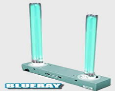 Blueray high output ultraviolet germicidal UVC air purifier