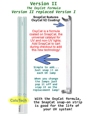 CaluTech OxyCat Sleeve Photo Catalyst