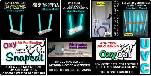 Ultraviolet Germicidal Air Purifier Uv Air Purifier Home Air