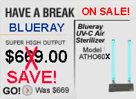 Blueray air cleaner Bluray air purifier